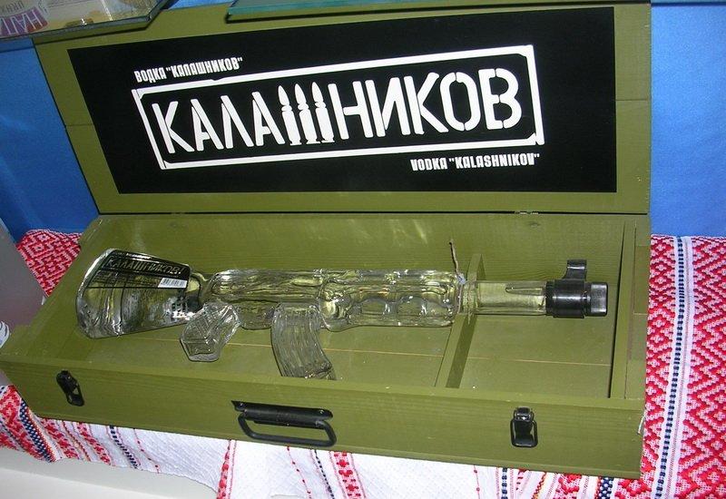 автомат Калашникова водка