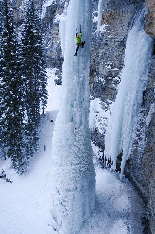 Покорение ледяного столба