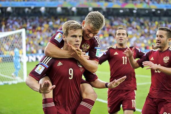 Отмучались Россия - Алжир 1
