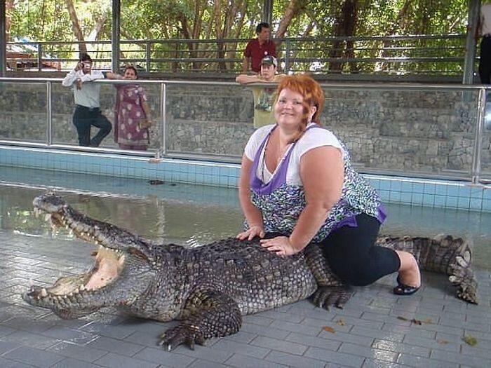 Крокодил зовёт на помощь