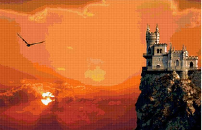 Крым а ну-ка отними Ласточкино гнездо