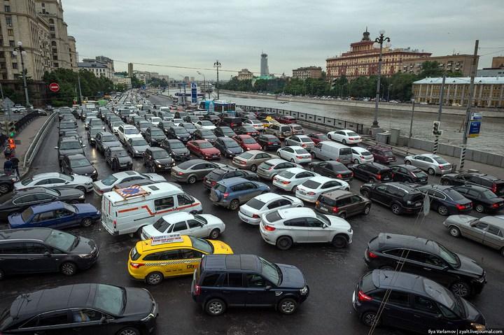 Московские пробки 1