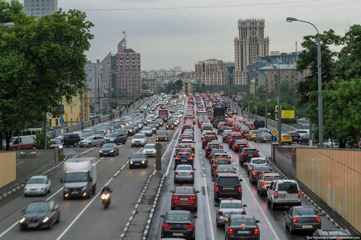 Московские пробки 10