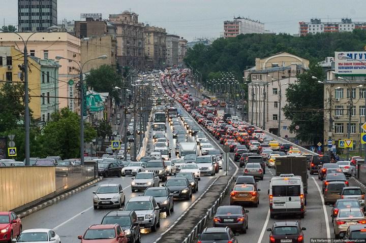 Московские пробки 11