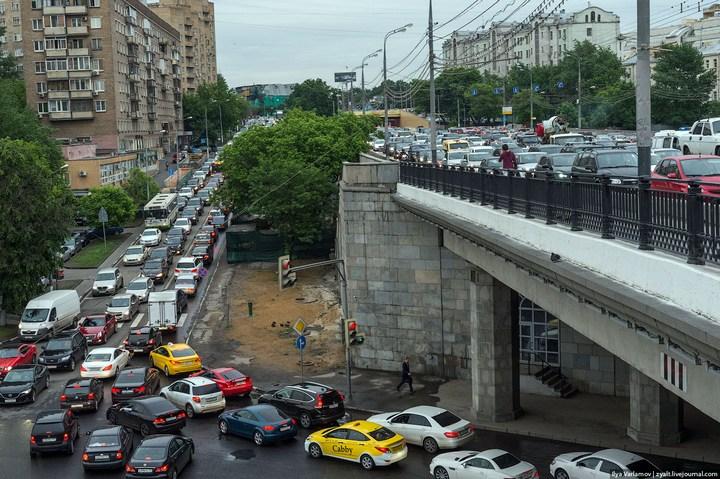 Московские пробки 12