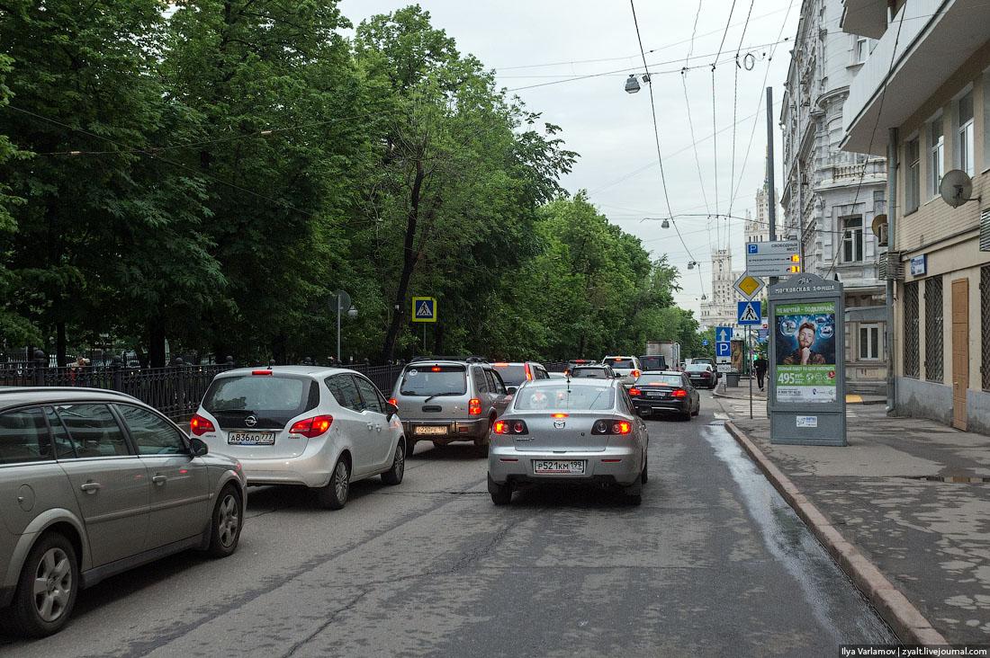 Московские пробки 13