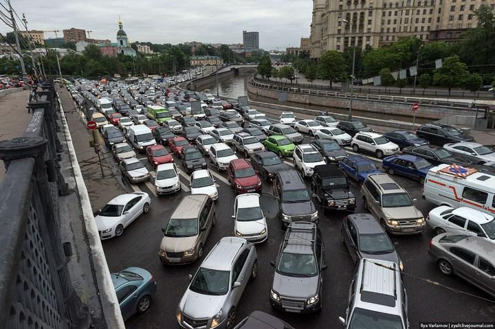 Московские пробки 2