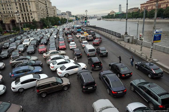 Московские пробки 3
