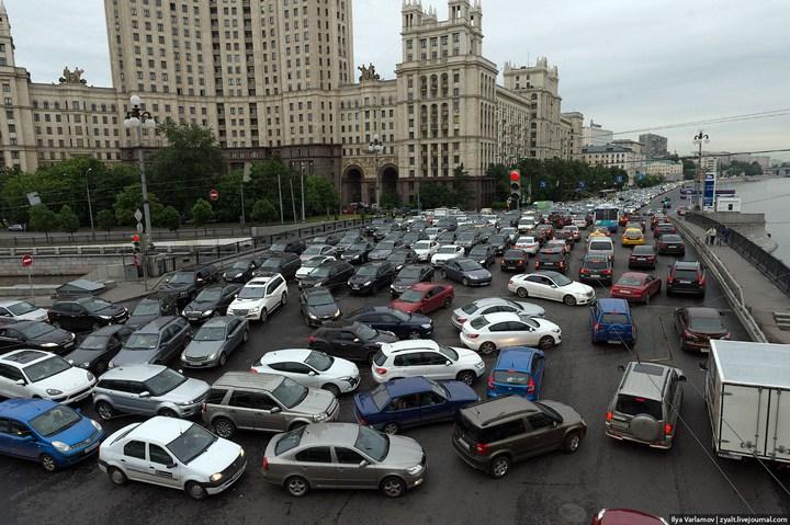 Московские пробки 4