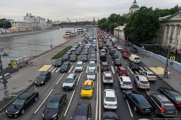 Московские пробки 5