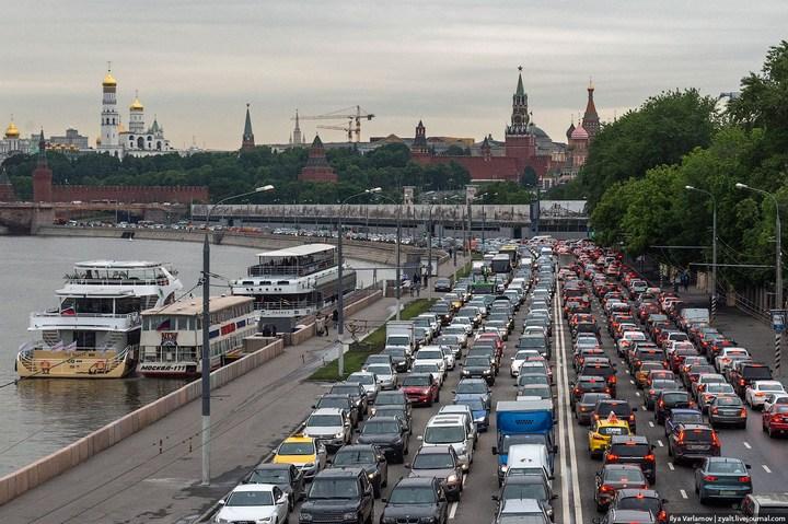 Московские пробки 6