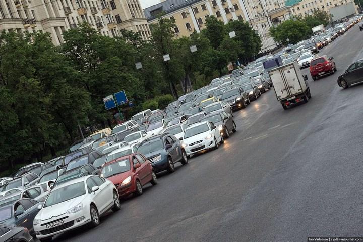Московские пробки 7