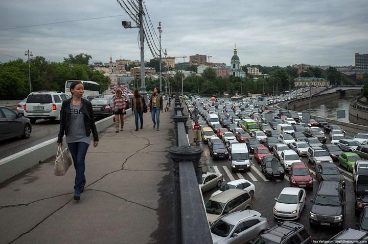 Московские пробки 8