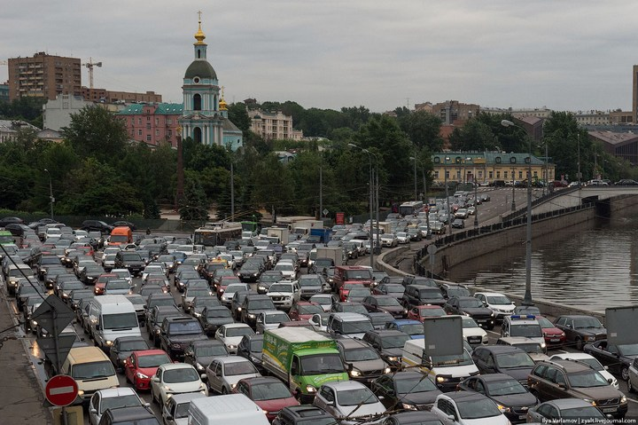 Московские пробки 9