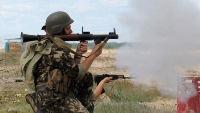 Падение самолёта под Луганском