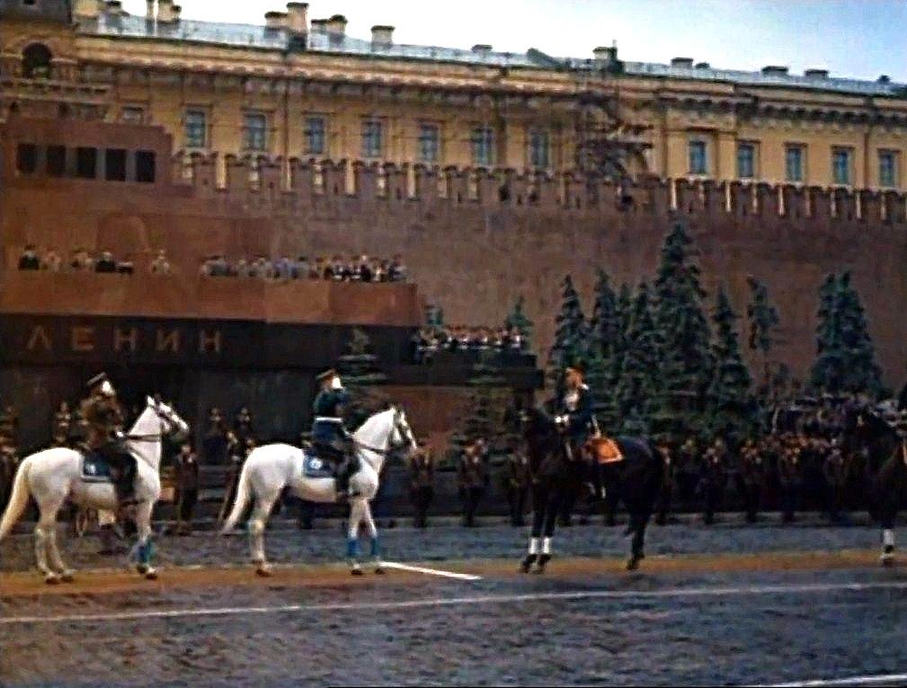 Парад победы 24 июня 1945 года Жуков