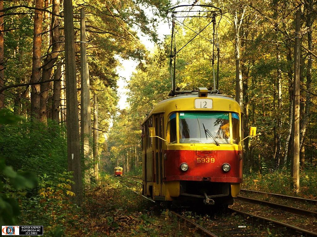 Трамвай в Пущу Водицу