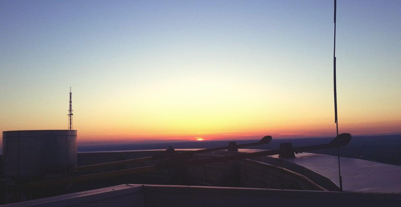 Рассвет в Перми 22 июня 2014 1