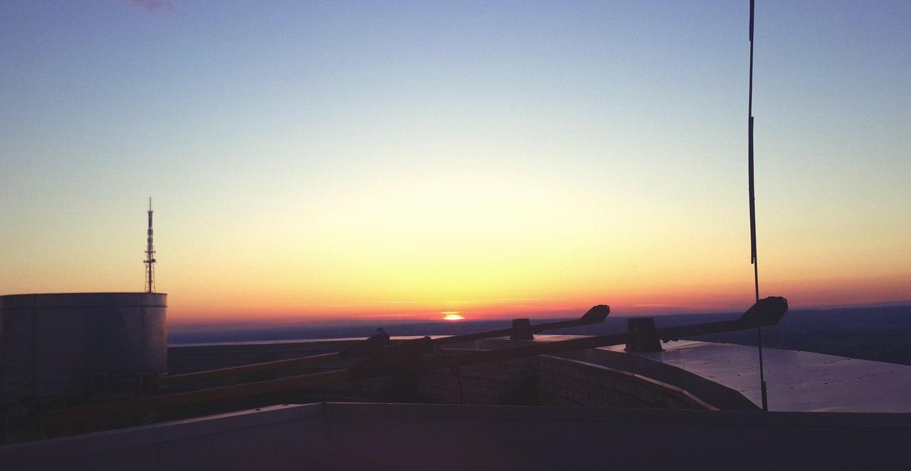 Рассвет в Перми 22 июня 2014 2