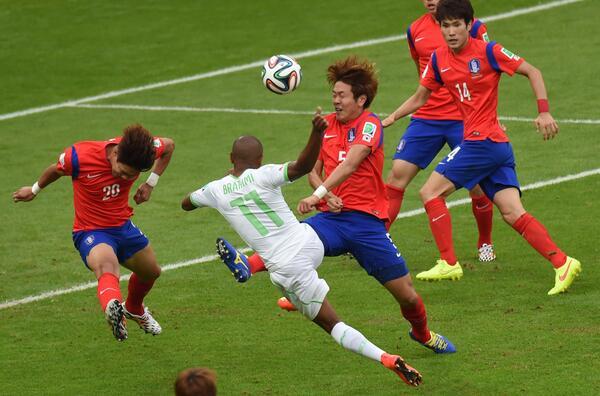 Россия - Бельгия 0-1 Алжир