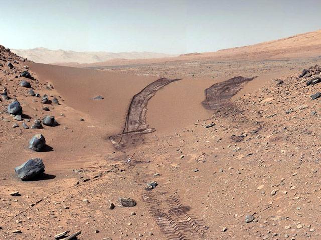 Селфи марсохода Curiosity 2