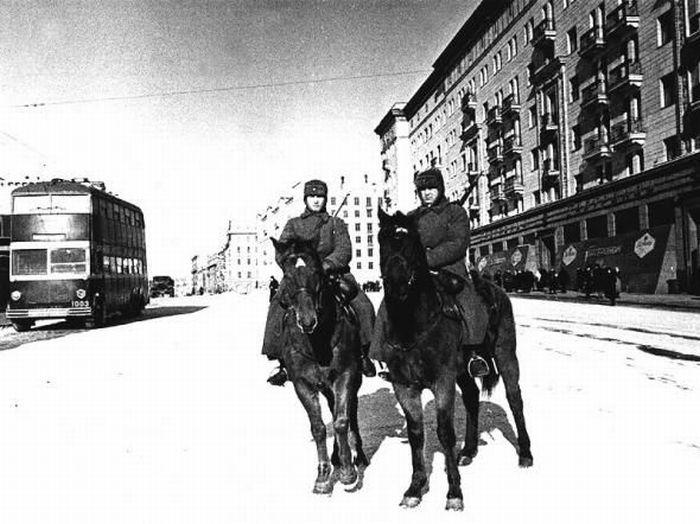 Сорок первый конный патруль