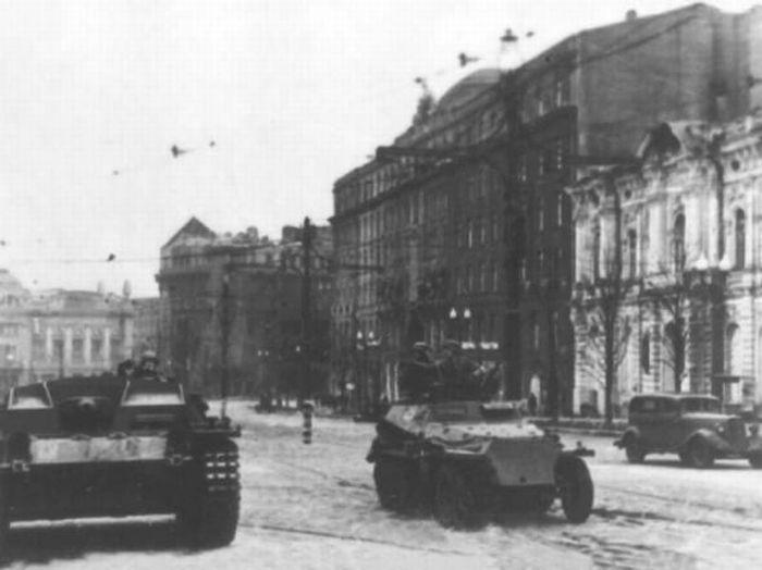 Сорок первый немцы в Харькове