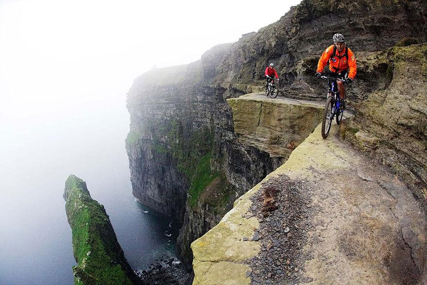 Экстремальные велобайкеры