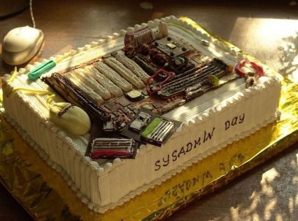 День системного администратора торт