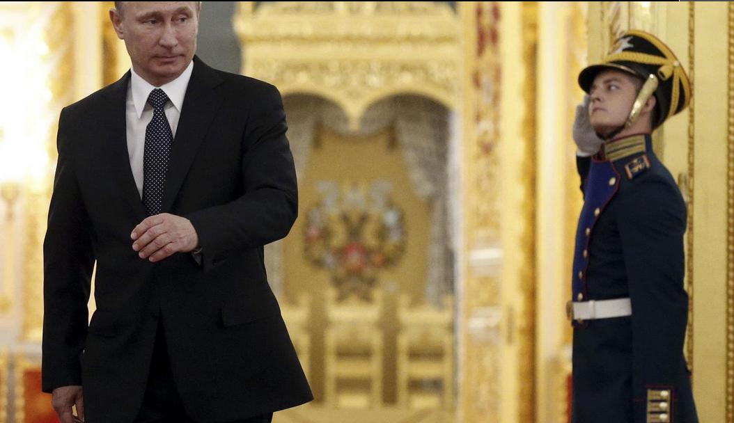 Newsweek про Путина кремль