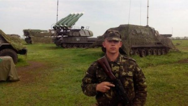 Сергей Пащенко на фоне Бука