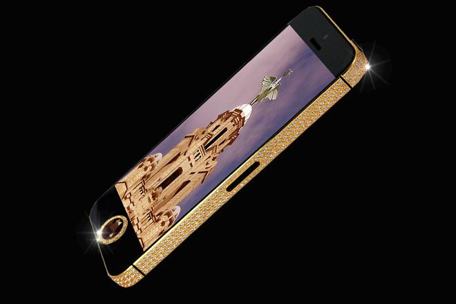 Самые дорогие телефоны в мире Iphone Black Diamond