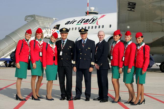 Стюардессы Air Italy