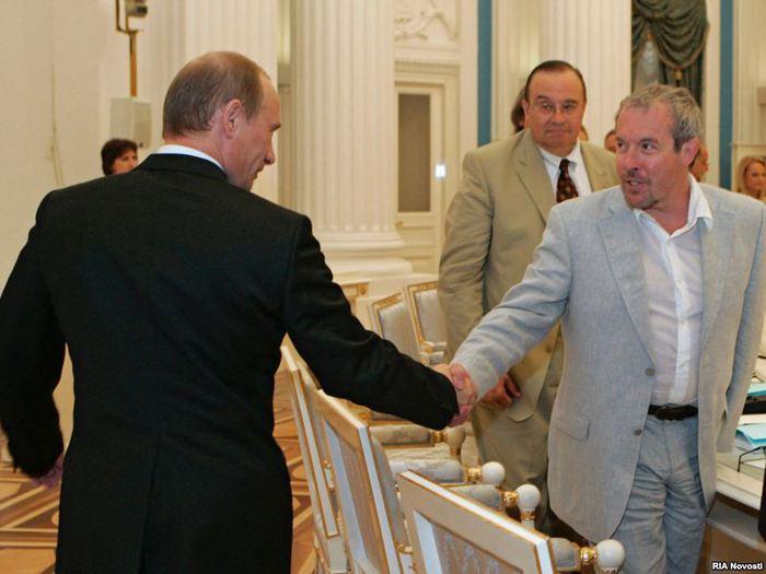 Макаревич и Путин