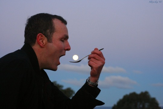 Нереальные фото Луна