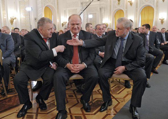 Зюганов Жириновский Миронов 2
