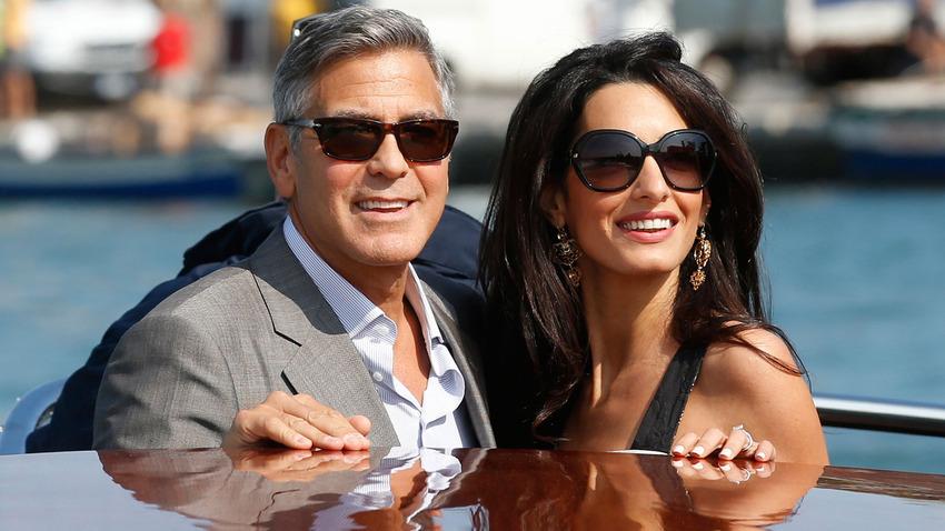 Свадьба Клуни 1