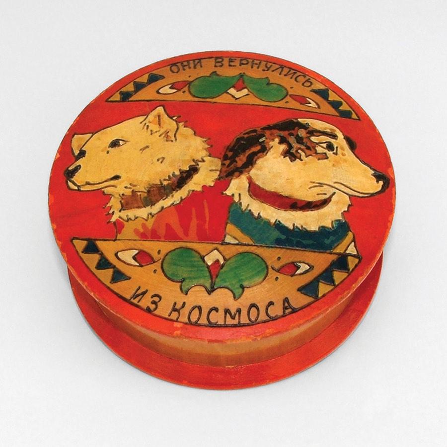 Дереянная шкатулка ручной работы 1960