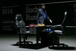 Матч Карлсен Ананд первая партия 4
