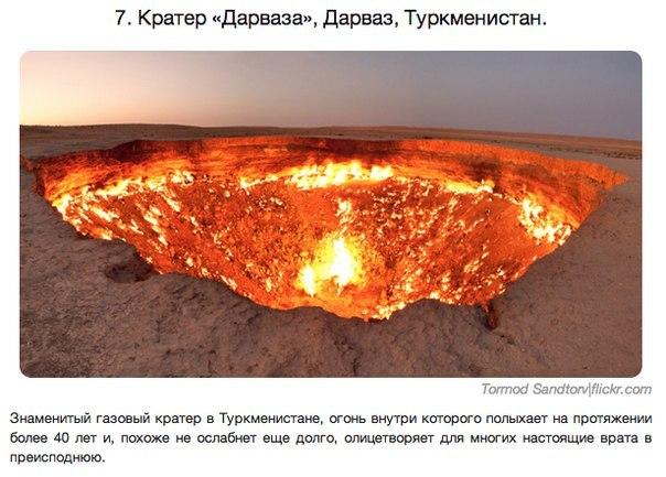 Удивительные места Туркмения
