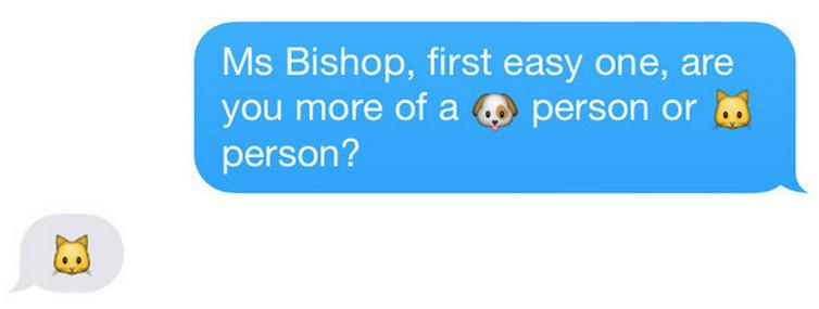 Джули Бишоп emoji 2