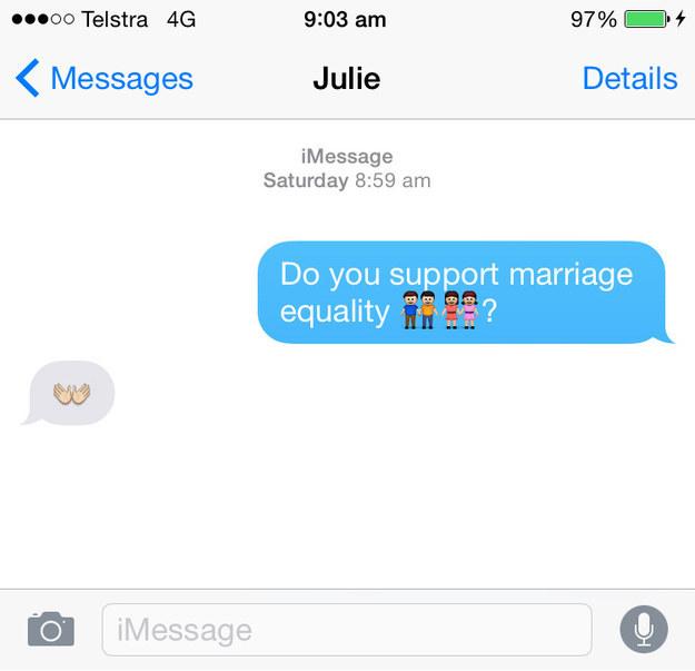 Джули Бишоп emoji секс
