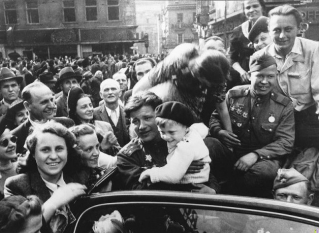День Победы Анатолий Егоров Прага