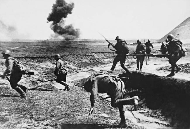 День Победы Смерть в атаке