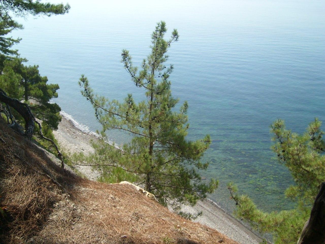 грекова щель 18 морская вода с высоты