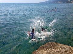 грекова щель 2 купание