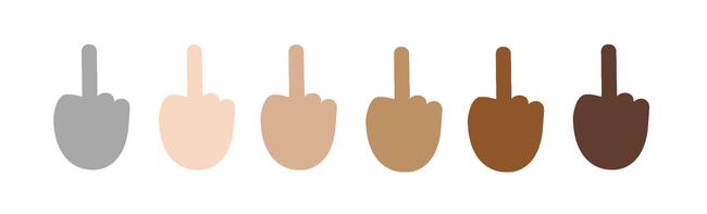 средний палец 5