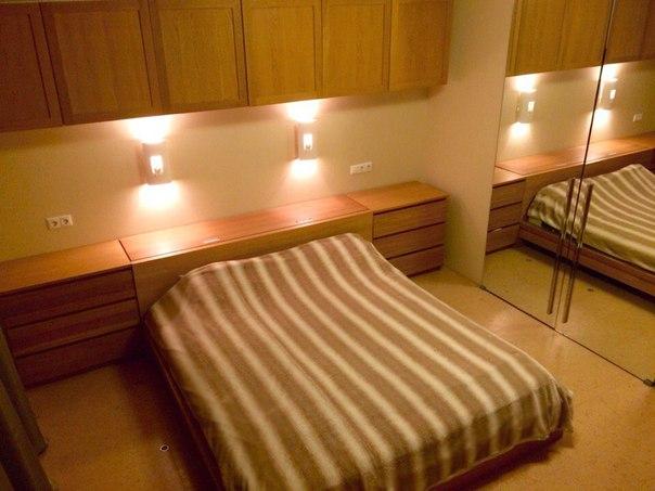 Спальня в квартире на Голева в Перми