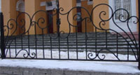 Металлические ограждения, кованые ограждения, все ограждения в Москве фото 03