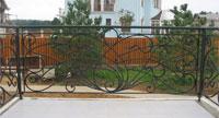 Металлические ограждения, кованые ограждения, все ограждения в Москве фото 04